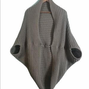 Sweater slouchy Gray